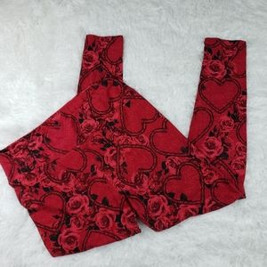 6/$25 LULAROE TC valentine leggings
